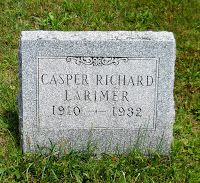 Climbing My Family Tree: Tombstone Tuesday: Cousin Casper Larimer, Truck Driver #genealogy