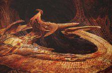 Concept art of the Anteverse by Oscar Chichoni Pacific Rim Kaiju, Gipsy Danger, Wayne Barlowe, Alternate Worlds, Tyranids, Environmental Art, Argentine, Creature Design, Tentacle