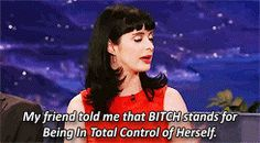 A role she totally embraces. | 22 Reasons Krysten Ritter Is The Girl Crush To End All Girl Crushes