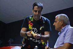 El Mago Tony Frackson y su Magia en la Semana Cultural de la AAVV El Progreso en Badajoz.