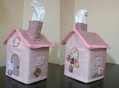 Casita para caja de pañuelos