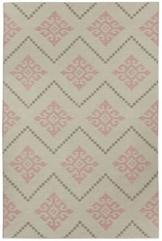 Snø Rug in Peony | By Genevieve Gorder for Capel Rugs