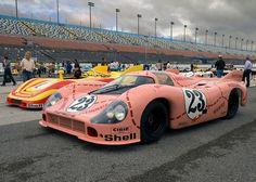 1971 Le Mans 24 Hours Porsche 917/20 #001 - Porsche 912.00 F12 2v DOHC 4907 cc Driven by: Willy Kauhsen (D)/Reinhold Jöst (D)
