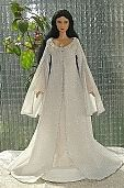 Free Sewing Patterns for barbie dolls  from various movies & TV shows  Gallery with instructions and patterns  Arwen angel dress ooak for Barbie doll