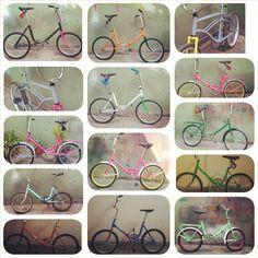 Algunas bicis que arme #aurorita #restauracion #retro #yasefueron