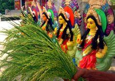 Kojagiri Puja is an auspicious day devoted to worshipping Goddess Lakshmi during Purnima (full moon) in the Hindu month of 'Ashwin'. Durga Puja, Goddess Lakshmi, Bengal, Diwali, Culture, Full Moon, Celebrities, Wealth, Gifts