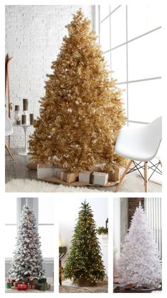 Whether you fancy a pre-lit Christmas tree, flocked Christmas tree, or even a gold tree, hayneedle.com has what you are looking for! Hayneedle can help you find the best size and style for your home's decor. Shop now and receive FREE shipping on any order over $49!
