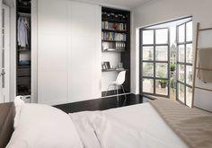 Garderoba w sypialni. Sprytne pomysły na przechowywanie - zdjęcie numer 6