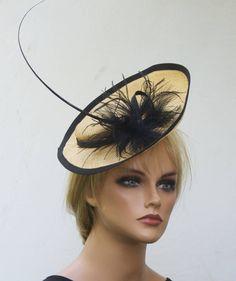 Fascinator, Headpiece, Kentucky Derby Hat, Cocktail Hat, Derby Fascinator, Formal Hat Dressy Hat Saucer Hat Percher headpiece horse race hat