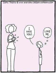 Child Psychology Cartoon