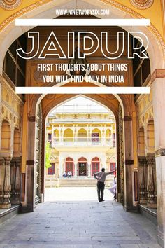I've been told Jaipur, India, is a little calmer than the rest of the state. Still, there's a few Jaipur gems here that you just don't see anywhere else but India.