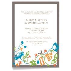 Invitaciones de boda Selva