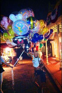Balloons Photography, Disneyland, Fair Grounds, Disney Resorts