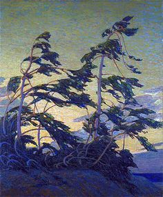 Painting Title: Pine Island, Georgian Bay, c.1914/16   Artist: Tom Thomson (1877-1917)   Medium: Fine Art Painting Reproduction by TOPofART.com