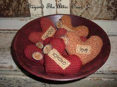 Valentine's Day Prim Crafts!