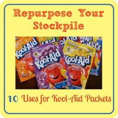 10 Uses for Kool-Aid (other then drinking it) - Frugal Minded Mom