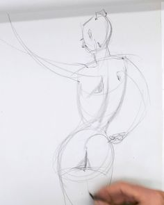 Here's part 1 of 3 of our free Tim Gula life drawing series. In this video he draws 2 minute gestures from a live model and explains how he uses the Reilly Method to capture the gesture of each pose - proko.com/329 #gesture #drawing