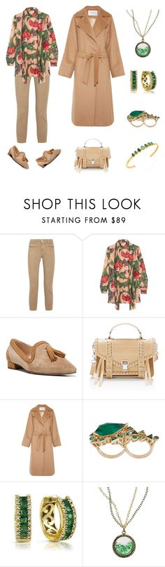 """""""Casual chic"""" by karen-galves on Polyvore featuring J Brand, Anna Sui, Franco Sarto, Proenza Schouler, MaxMara, Stephen Webster, Effy Jewelry and Gurhan"""