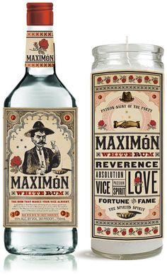 Área Visual: Two Arms Inc. Estudio de Diseño spirit for our #rum loving #packaging peeps PD