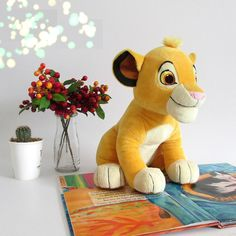 The Lion King Simba Cute Plush Toy. Super soft fabrics Simba that captures Simba's fierce and cuddly look. You will roar with pride when cuddling with Simba plush toy. Simba Toys, Toy Story Figures, Lion King Simba, Birthday Gifts For Kids, Cute Plush, Disney Dolls, Dinosaur Stuffed Animal, Stuffed Animals, Stuffed Toys