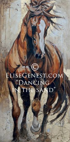 «Dancing in the sand» Élise Genest
