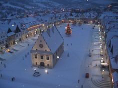 Bardejov, Winter is here...