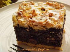 Trzeci Talerz: Makowiec na kruchym spodzie Polish Recipes, Polish Food, Cake Cookies, Sweet Tooth, Pie, Cooking Recipes, Sweets, Baking, Breakfast