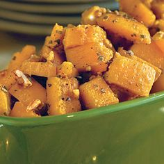 60 Spectacular Thanksgiving Sides | Glazed Butternut Squash | SouthernLiving.com
