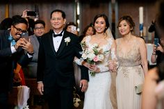 Big Beautiful Wedding at Nixon Library with Michael and Pauline - Los Angeles Wedding Photographer