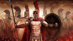 Spartan soldiers