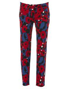 DKNY ankle skinny pant #MyerSS13 #floral