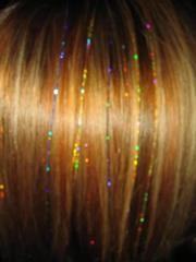 hair flare Hair Tinsel, Leg Chain, Fairy Hair, Flare, Hair Cuts, Spa, Bangles, Legs, Hair Styles