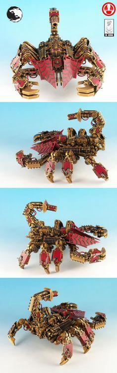 Thousand sons Scorpion Defiler