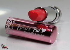 Holika Holika Heart Ful ♥ Moisture Lipstick - RD807 Candy Red.