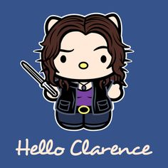 Check out this awesome 'Hello+Clarence' design on TeePublic!