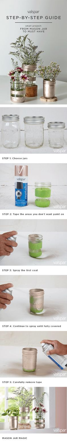 1000 Images About Step By Step Small Projects On Pinterest Valspar Metallic Spray Paint And