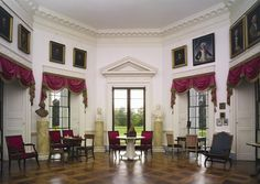 Parlor, Thomas Jefferson's Monticello, National Historic Landmark, Charlottesville, Virginia