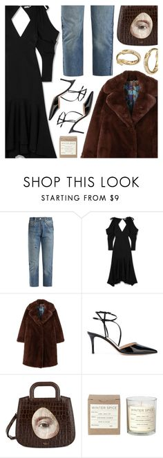 """Untitled #6803"" by amberelb on Polyvore featuring RE/DONE, Rejina Pyo, MANGO, Gianvito Rossi, Mulberry, Broste Copenhagen and Ileana Makri"