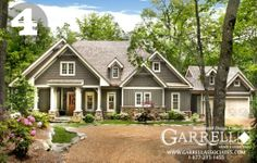 Mailbox Journey | Home Exteriors � Craftsman Style | http://mailboxjourney.com I love the Grey color