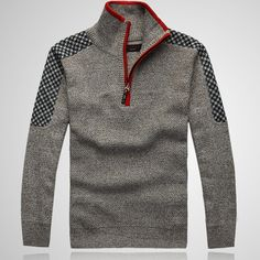 Cheap collar extender, Buy Quality collar cervical directly from China shirt fabric Suppliers: Warm Winter Sweaters Casual Men's  Knitwear Classic pullovers Man Middle-aged Blending Stand Collar Clothing Free Shippi