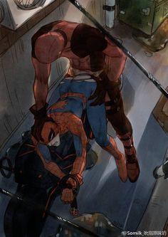 Deadpool x Spiderman @Somilk_吮指原味奶