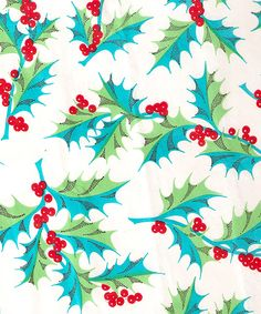 1950s Christmas gift wrap... I love vintage wrapping paper