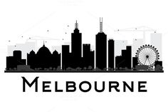 #Melbourne #City #Skyline #Silhouette by Igor Sorokin on @creativemarket