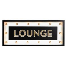 Marquee Sign from Z Gallerie