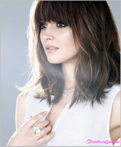 awesome Long bob haircuts with bangs
