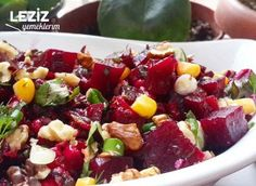 Cevizli Kırmızı Pancar Salatası