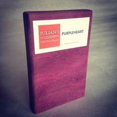 PURPLEHEART wood (AMARANTH) - sample