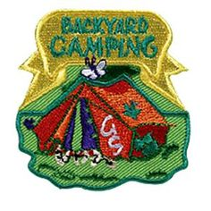 Try out camping in your backyard!