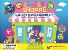 Dowling Magnets - Magna Art Sweet Shoppe currently 20% off in The School Shop until 9/26/14!