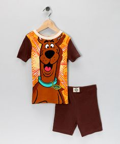 Take a look at this Scooby Pajama Set - Boys  by Saramax on #zulily today!
